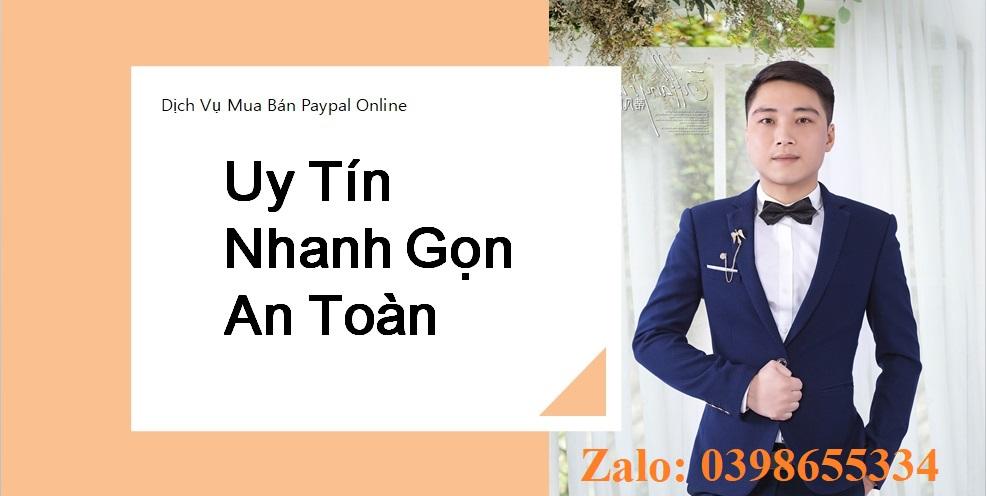 Mua bán Paypal Bảo Nguyễn