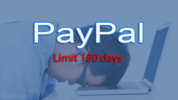 PayPal bị limit 180 ngày có gỡ được không?